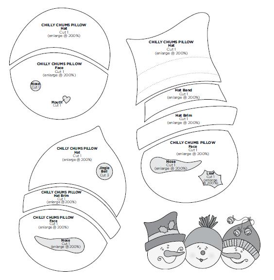 Armario Limpieza Ikea ~ Moldes Para Artesanato em Tecido Almofada em Feltro de Natal