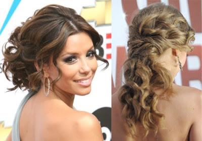 peinados de pelo rizado corto with