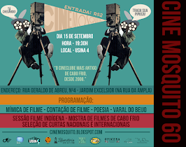CONFIRA AS FOTOS DO CINE MOSQUITO DE SETEMBRO