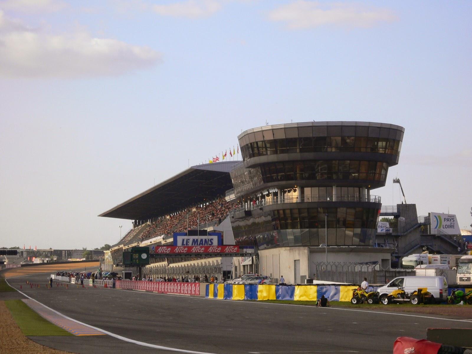Torre circuito de Le Mans
