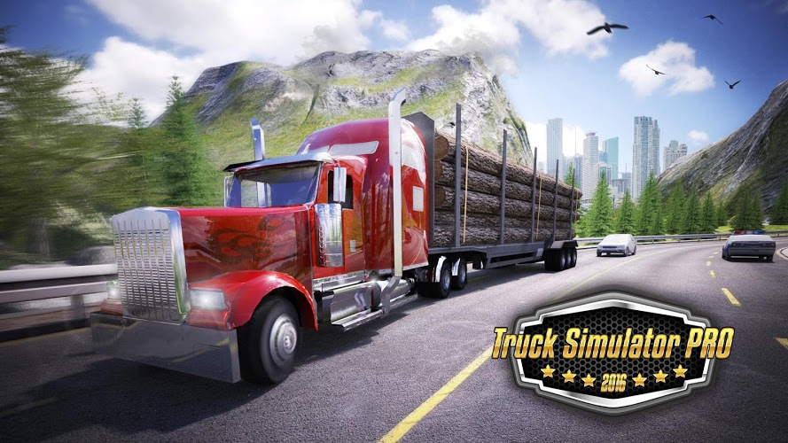 ... Download APK Data for Android: Truck Simulator PRO 2016 MOD Apk OBB