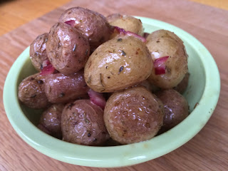 Clean Eating Baby Potato Salad