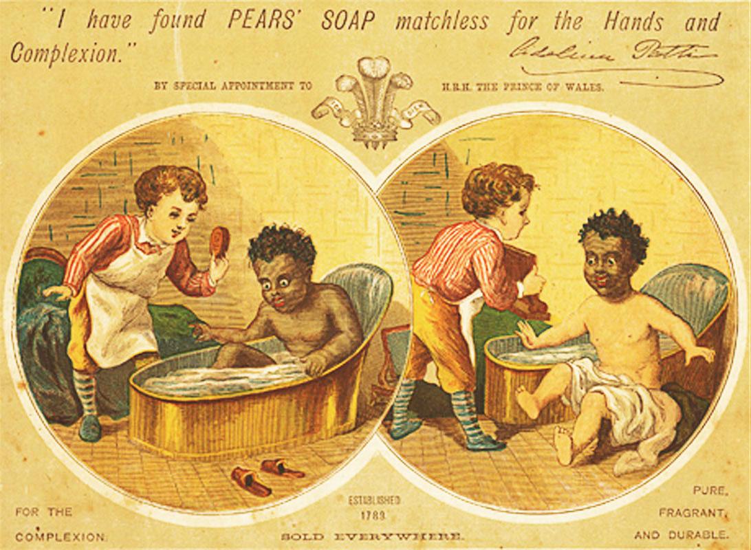 Vintage bathroom ads - Incredibly Racist Children
