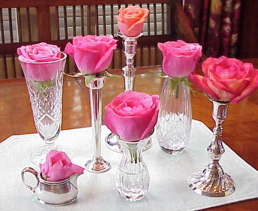 Vase centerpiece ideas