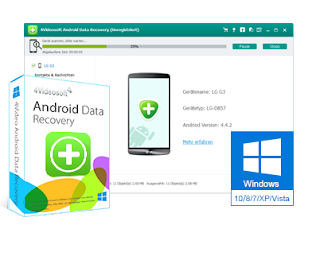 4Videosoft Android Data Recovery Portable