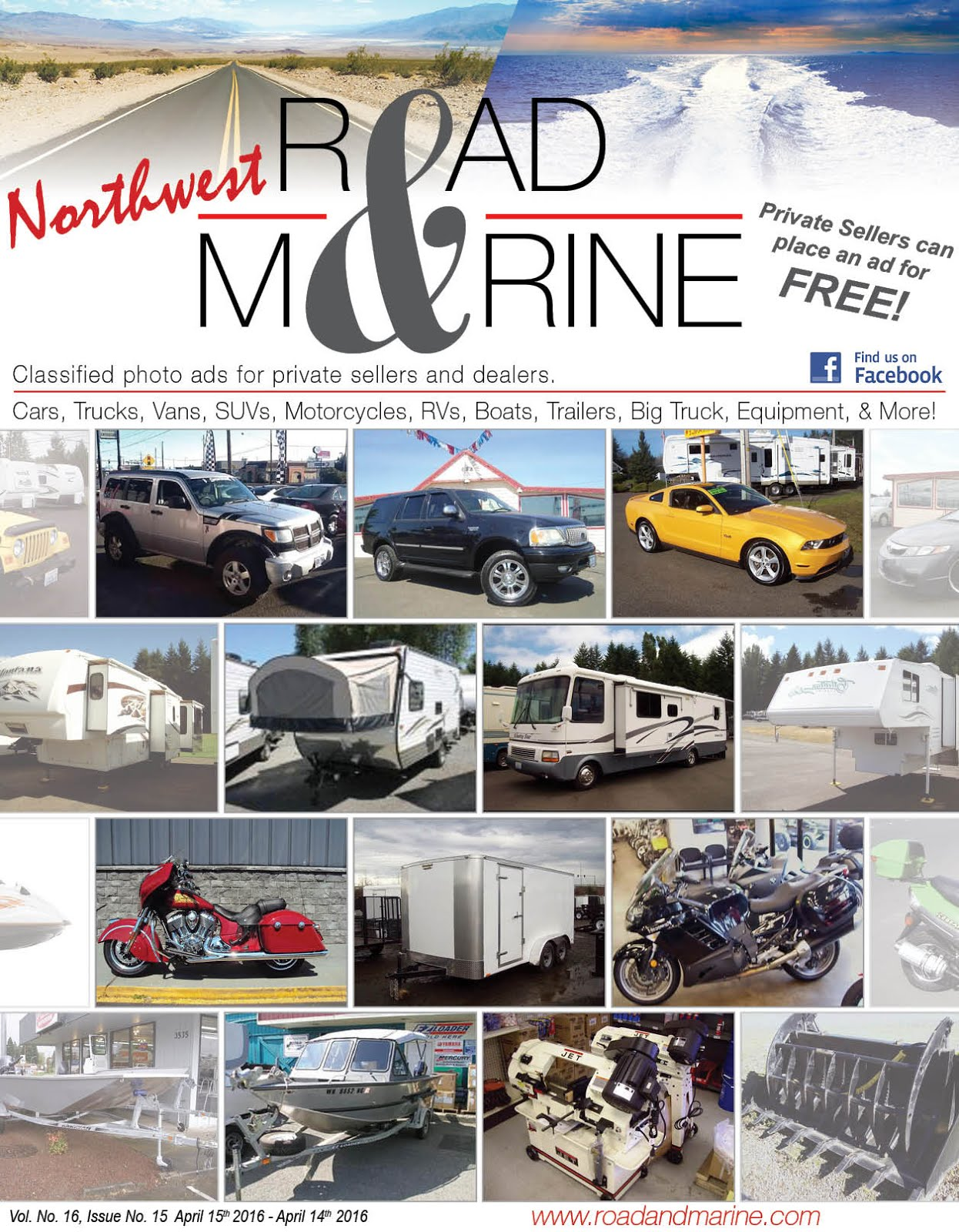 STARTS NEXT WEEK!! THE NEW NW Road & Marine Magazine LOOK FOR IT HERE!!