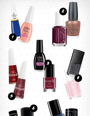Esmaltes: Veja como combinar as cores