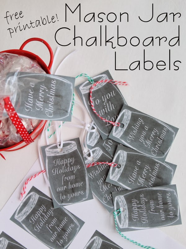 Crafts with jars free printable mason jar chalkboard gift tags free printable chalkboard mason jar gift tags print these free tags to add to negle Gallery