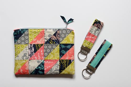 http://www.incolororder.com/2013/01/hst-zipper-pouch-key-fob-tutorial.html