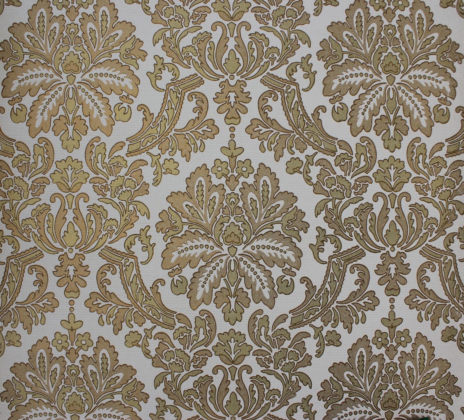 rosies vintage wallpaper vintage damask wallpaperetsy