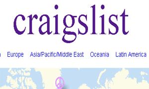 Most Popular Craiglist
