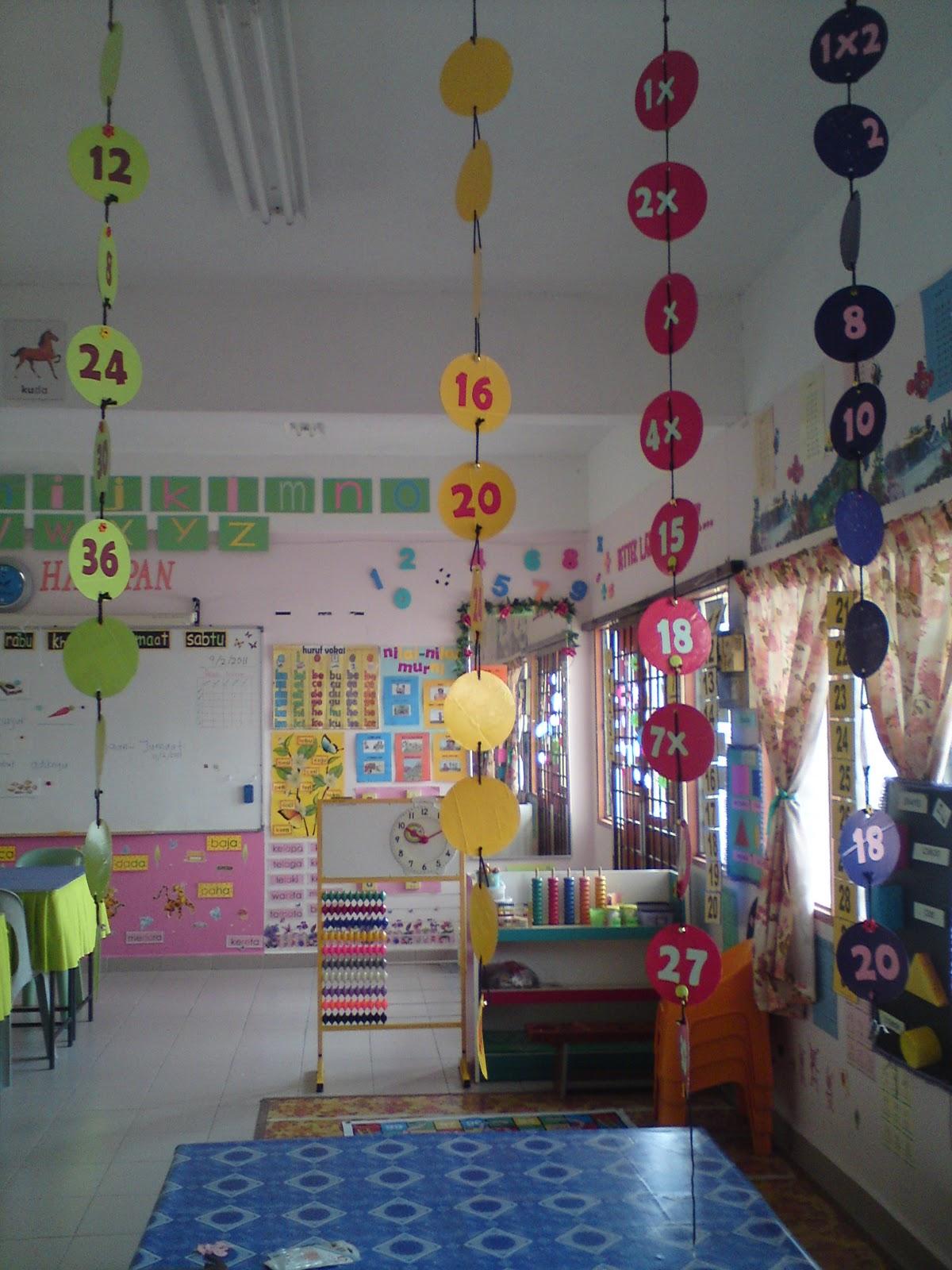 Contoh gambar ruang kelas tk 16 gambar hiasan dinding for Contoh lukisan mural tadika