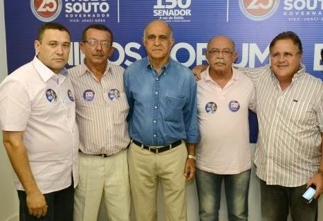 PREFEITO CORREIA OFICIALIZA APOIO Á CANDIDATURA DE PAULO SOUTO