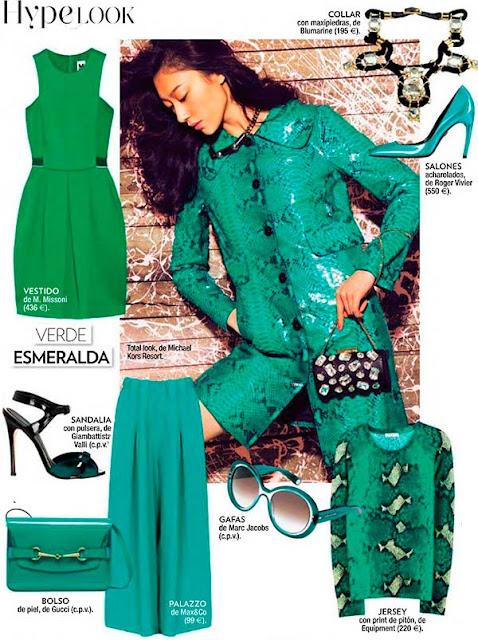 Los colores de moda verano 2014