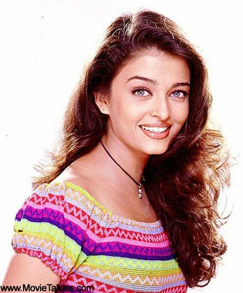Aishwarya Rai colorful in hot dress
