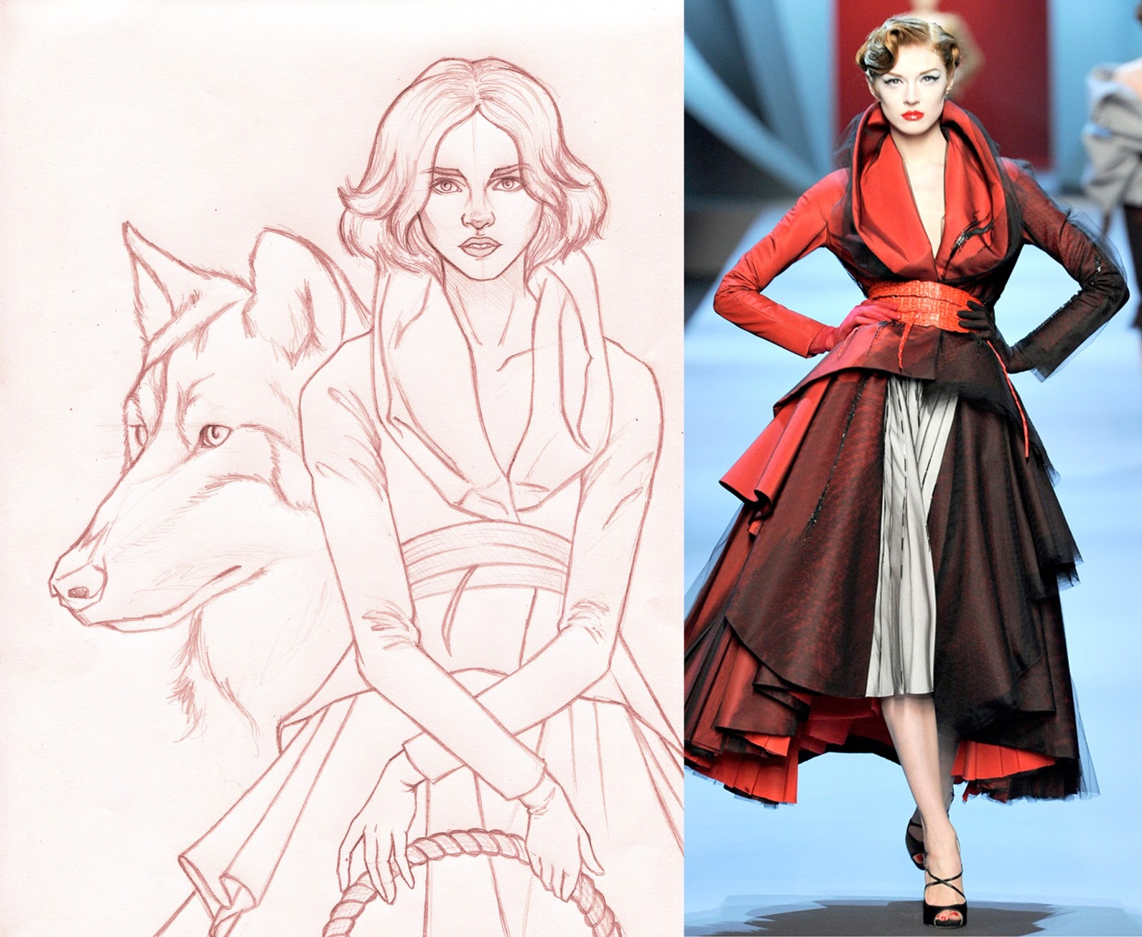 Desired Illustrations Charles Perrault Fashion Fairy Tales Series