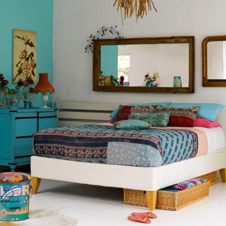 turquoise bohemian bedroom ideas Real Estate Powerful: 13 Interesting headboard designs!