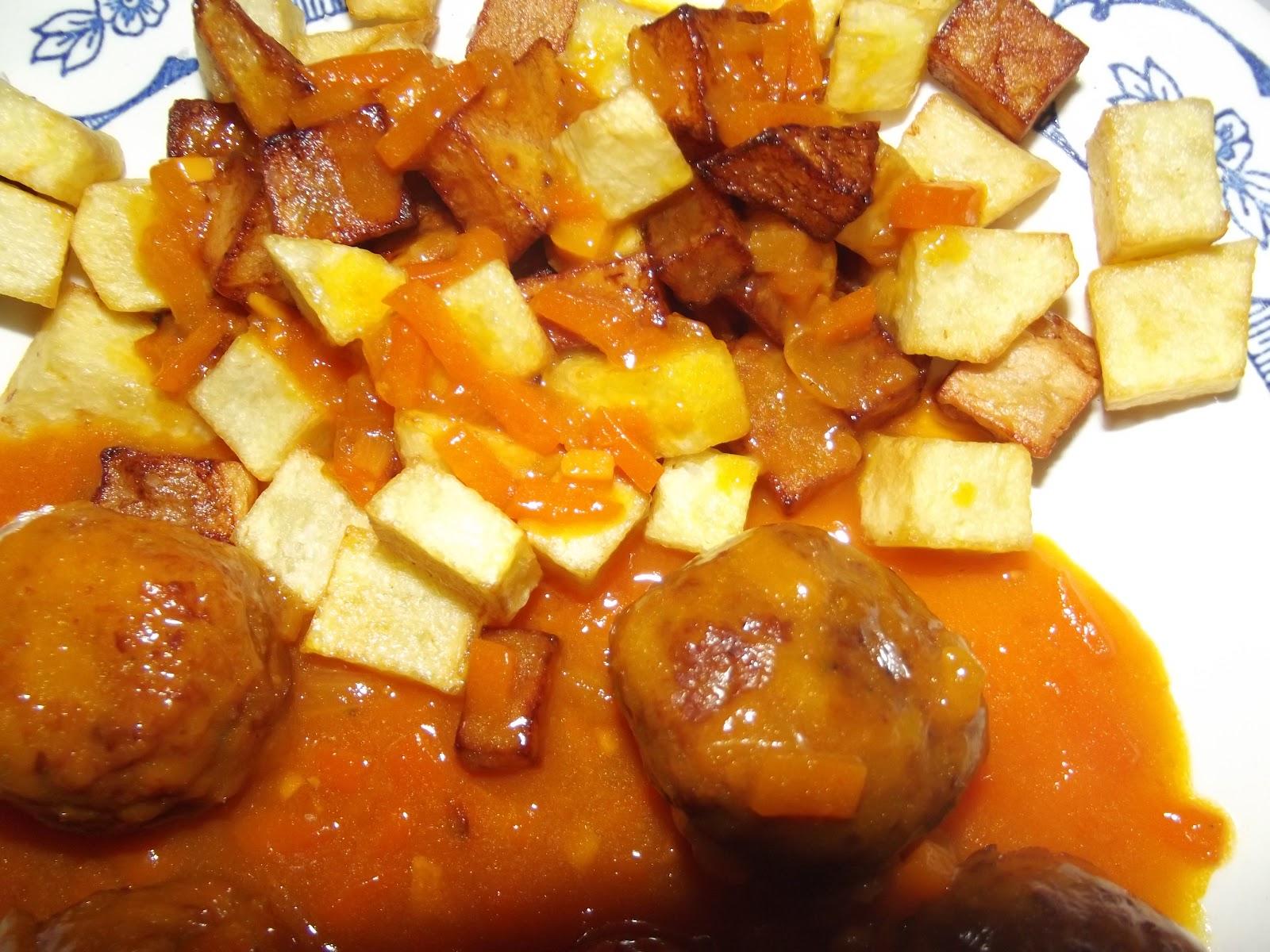 Recetas f ciles y tradicionales alb ndigas en salsa - Albondigas tradicionales ...