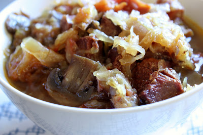bigos polish hunter's stew