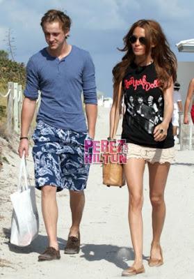 Tom Felton with Girlfriend