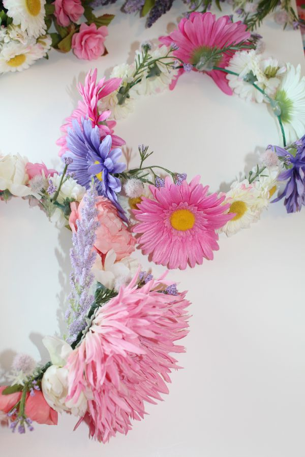 easy diy floral crowns