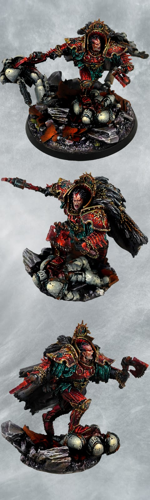 Angron, World Eaters Warlord by Bohun
