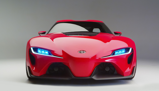 2016 Toyota ft 1 Release Date