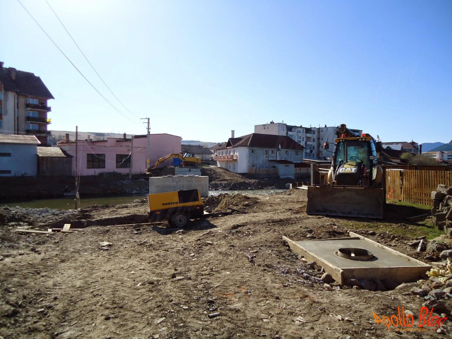Reconstructie pod peste Mures - Toplita