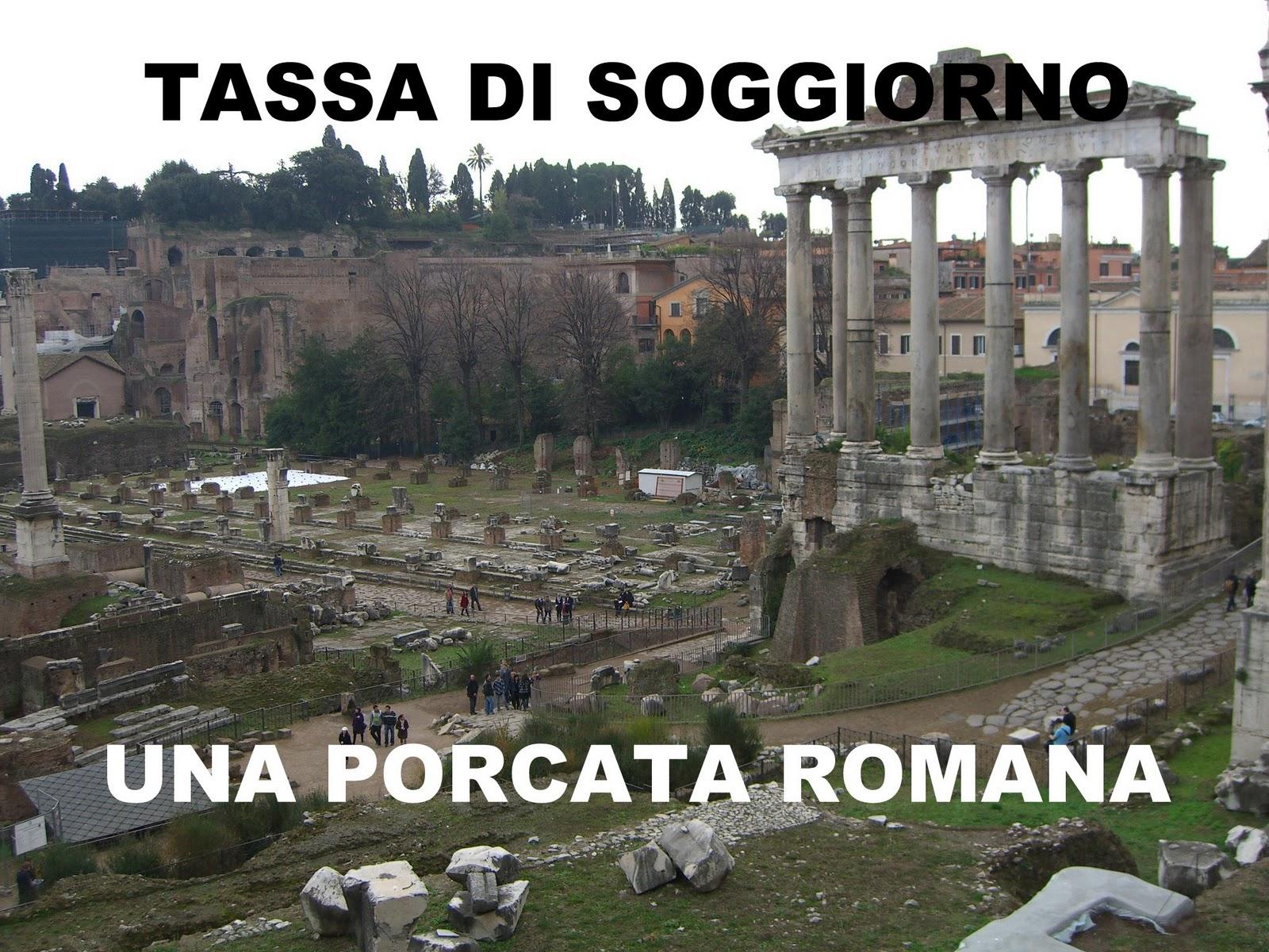 ondasud - cultura mediterranea : Roma, la tassa di soggiorno una ...