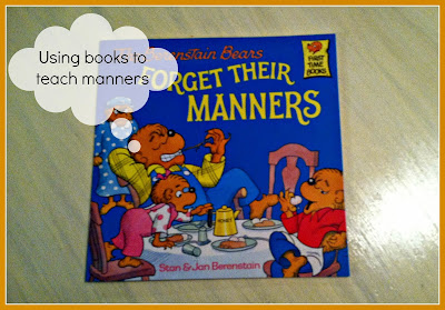 teaching toddlers manners with books