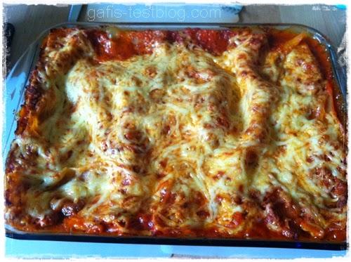 Lasagne mit Knorr Fix Bolognese - Unsere Beste!