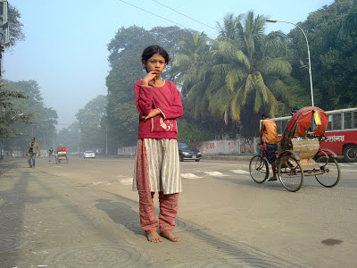 Street Child in Dhaka