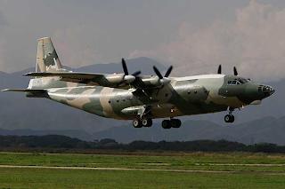 Avión de transporte táctico Y-8F-200-W