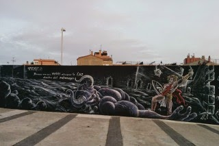 Teseo en el laberinto [Mythos Street Art Series]