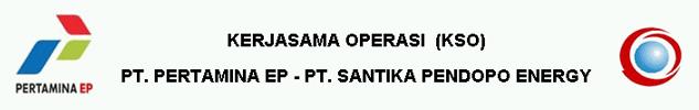KSO Pertamina EP - PT Santika Pendopo Energy