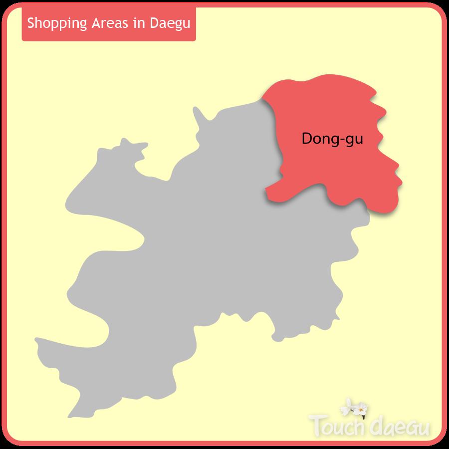 Shopping Areas in Daegu-Dong-gu