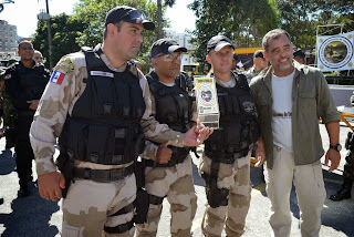 Teresópolis ganha o 1º lugar em abordagem policial e intervenção tática