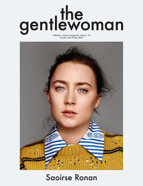 Saoirse Ronan by Alasdair McLellan for The Gentlewoman, Autumn Winter 2015