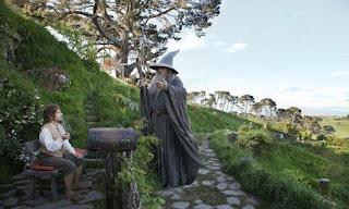 Gandalf y Bilbo