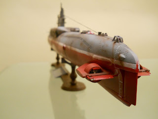 maqueta de submarino chino tipo 33g marca trumpeter a escala 1:144