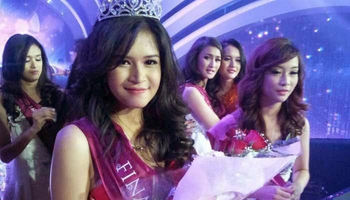 Syarifah Reihan Afridila Miss Celebrity 2014