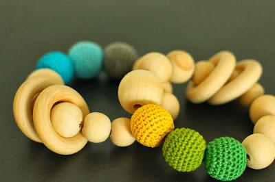 DIY Beaded baby Toys