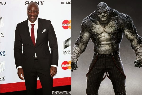 Adewale Akinnuoye-Agbaje cast as Killer Croc in the upcoming 2016 film Suicide Squad