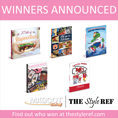 Mascot Books Giveaway Winners