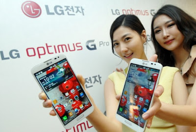 LG Optimus G Pro Korean Market Launch