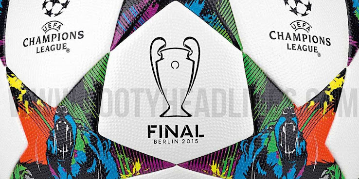 Conocé la pelota adidas que se usará en la final de la Champions League 2015