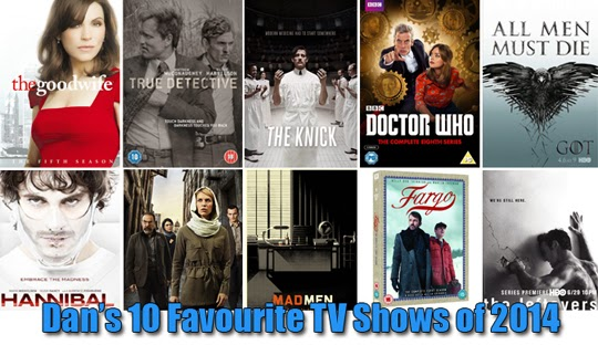 My 10 Favourite TV Shows of 2014