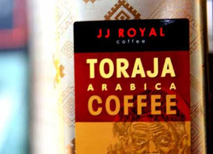 Toraja Arabica coffee