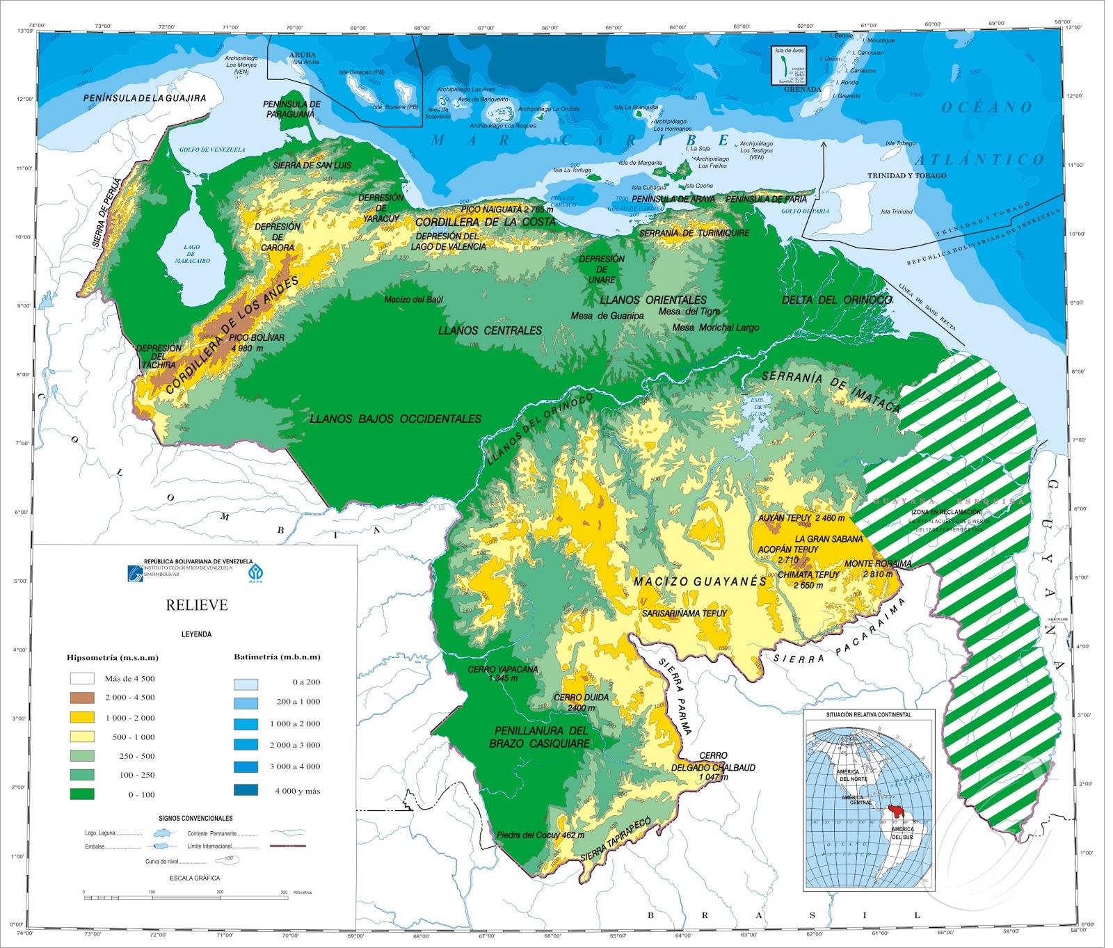 Mapa Político de América | Mapa de América - vmapas.com
