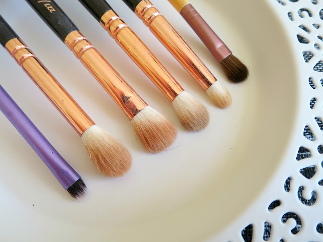 Favourite Makeup Brushes Face Eye Real Techniques Zoeva Eco Tools Sephora